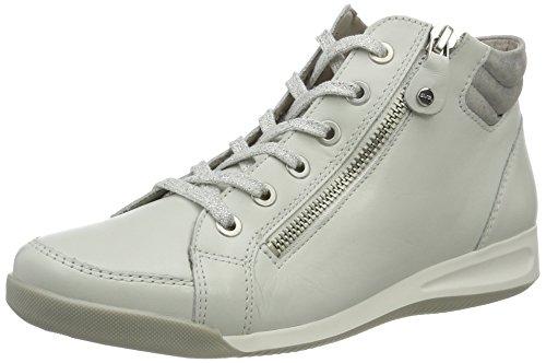 ara Damen Rom-Stf 12-44410 Hohe Sneaker Wei