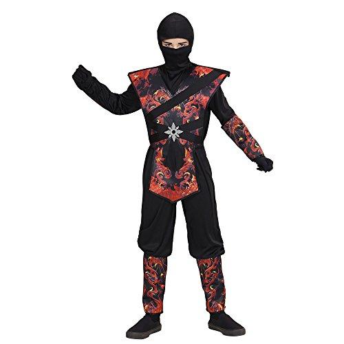 kostüm Ninja, boys, 158 cm (Halloween-kostüm 11-jährigen Jungen)
