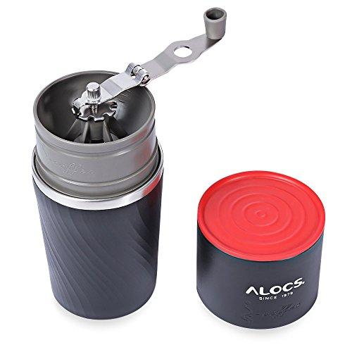 4in 1Multifunktionale tragbare Mini Edelstahl Manuelle Kaffeemaschine Espresso Maker für Reisen Camping Picknick Zuhause Schleifstifte Equipment