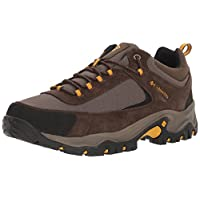 Columbia Men's Granite Ridge Hiking Shoe, Mud, Golden Yellow, 10 D US