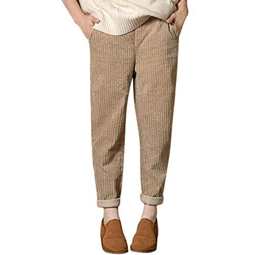 SOMESUN Pantaloni Harem Pantaloni Larghi Elastici Casual a