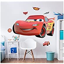Walltastic Disney, Cars, großer Aufkleber, Vinyl, bunt, 7 x 7 x 52.5 cm