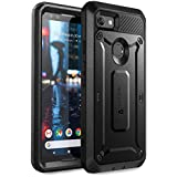 SUPCASE Google Pixel 3 Case, Unicorn Beetle Pro Series Full-body Rugged Holster Case with Built-in Screen Protector for Google Pixel 3 2018 Release - Retail Package (Black)