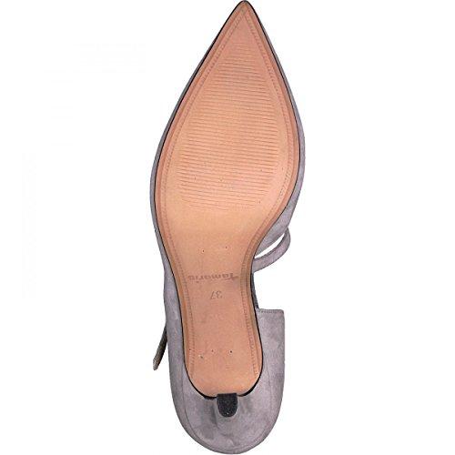 Tamaris 1-24413-20 Scarpe Col Tacco da Donna Grau