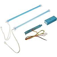LOGISYS clk12bl2doble cátodo frío Kit de luz, color azul