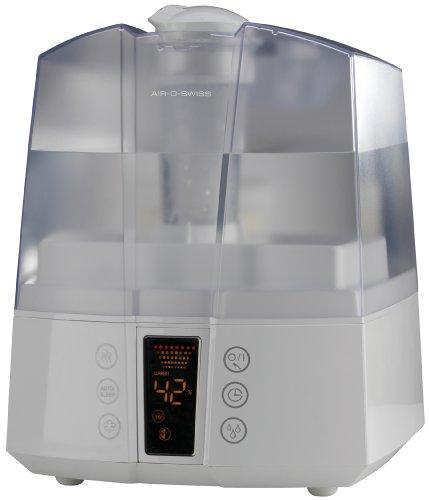 Boneco U7147 - Humidificador de aire por ultrasonidos, 550 g/h, 40 W, 60 m², color blanco