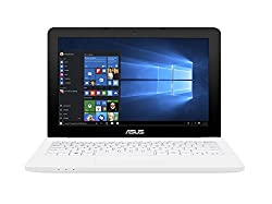 Asus E202SA-FD0012T 11.6-inch Laptop (Celeron N3050/2GB/500GB/Windows 10/Integrated Graphics), White
