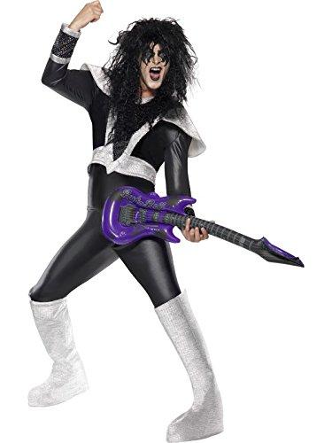 k Rocker Kostüm Größe M (70's Glam Rock Kostüme)