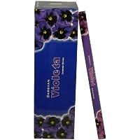 Räucherstäbchen Violeta 200 Sticks Veilchen Duft 25 Schachteln zu je 8 Stäbchen Grosspackung Wohnaccessoire Raumduft preisvergleich bei billige-tabletten.eu