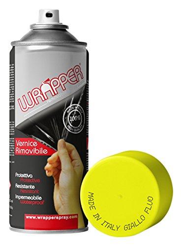 WRAPPER GIALLO FLUO ML 400