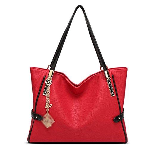 Donna Nuovo Stile Accessori Moda Grande Capacità Pratica Spalla Singola Red