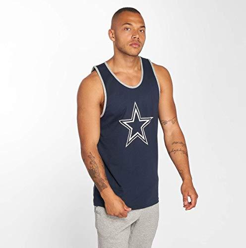 New Era dryera Tank DALCOW–Shirt Linie Dallas Cowboys, Unisex Erwachsene, Blau (OSB)