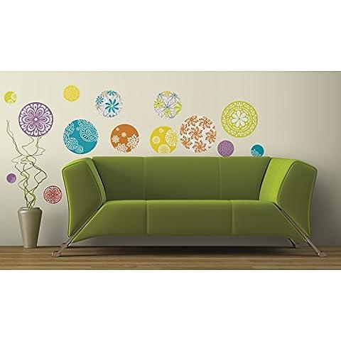 Jomoval RoomMates Sticker mural Repositionnable Motifs à