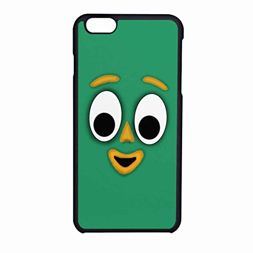 Gumby Face Case Cover / Color Nero Rubber / Device iPhone 6/6s