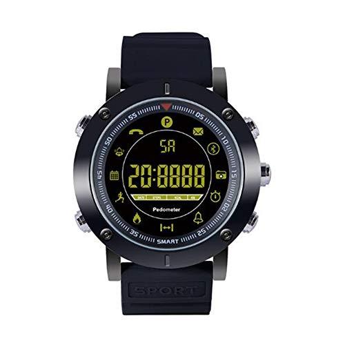 XNNDD Smart Sportuhr Lange Akkulaufzeit kann App verbunden Werden wasserdicht und staubdicht Smart Watch Fitness Sportuhr
