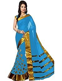 Vinayak Textiles Cotton Saree (Multicolour)