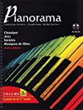 partition pianorama piano 2 et 4 mains volume 3a partition cd
