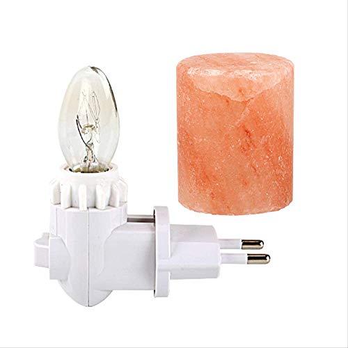 Handgemachte Natürliche Rosa Himalaya Salz Lampe Rotierende Salz Lampe Luftreiniger Zylinder Natürliche Form Rock Wandleuchten Halloween Weihnachtsgeschenk - Handgemachte Salz