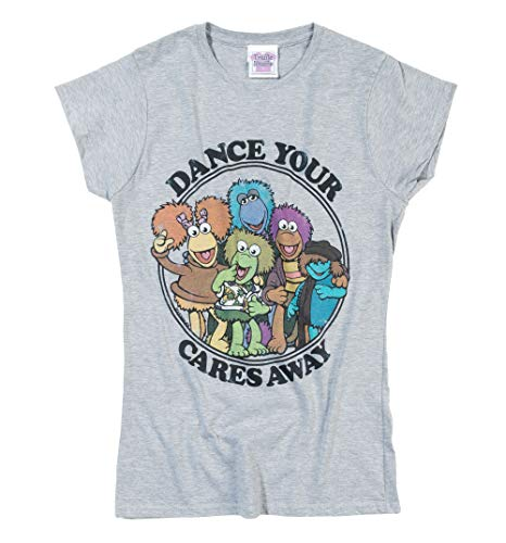 Womens Official Fraggle Rock Dance Your Cares Away, S to XL