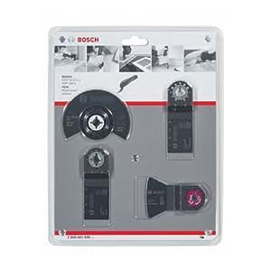 Bosch 2608661696 Set Pavimenti in Legno per Utensile Universale GOP