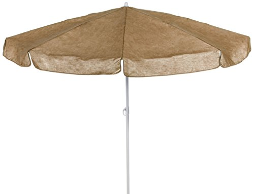 beo MM07 Sonnenschirm 180cm - Sombrilla para patio, color beige