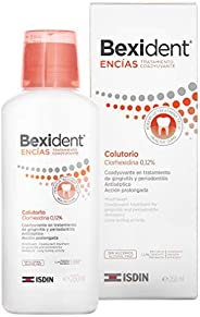 Isdin Bexident Encías Colutorio Tratamiento Coadyuvante Colutorio, Clorhexidina 0,12% 1 x 250 ml