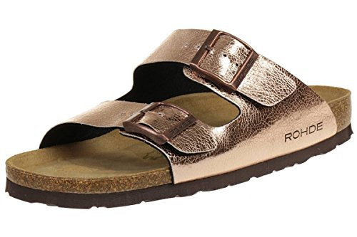 Rohde Riesa Women's shoes summershoes 5631 copper cuivre kupfer kupfer