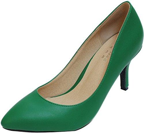 CFP , Sandales Compensées femme Vert foncé