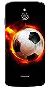 Lets Play Premium Printed Soft Silicon Case Mobile Cover for InFocus M2