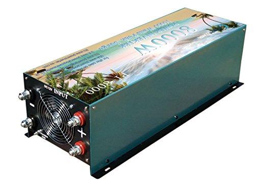 Inversor convertidor 8000W De 12V to AC 230V power Inverter,Converter,modificar el inversor