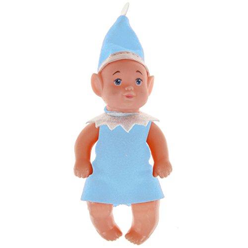 ASAB Weihnachts-Kostüm für Jungen und Mädchen mit Auge, Blau