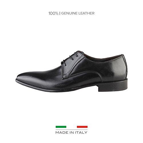 Made In Italia Gianni, Scarpe stringate uomo nero Size: EU 42