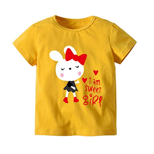 Big Boy Camiseta de Manga Corta Camiseta de algodón de Manga Corta de Verano para niños Camisa de...