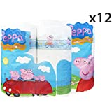 "Set 12 Clean paper * 2 asciug.""peppa pig"" - Toallas"