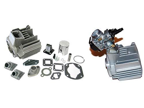 Rennzylinder Ersatzteil/geeignet für Sachs Hercules Prima 4 5 Sachs 504 505 Tuning 80ccm Membran Athena