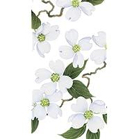 Caspari Inc. - Asciugamani di carta per ospiti, confezione da 15 pezzi, motivo: fiori in boccio, colore: bianco