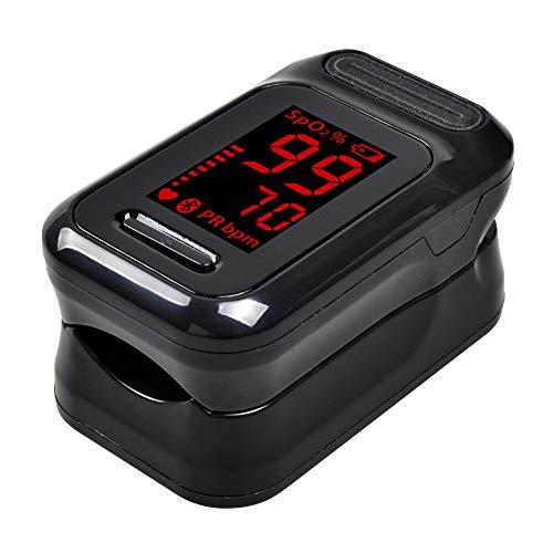 CQ Pulsoximeter Fingeroximeter OLED Farbdisplay Tragbar Alarmfunktion Pulsmessgerät