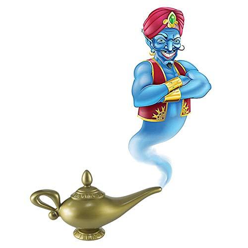 Kunststoff Cosplay Magie Halloween Panto Arabian Für Aladdin Genie Lampe Kostüm Prop