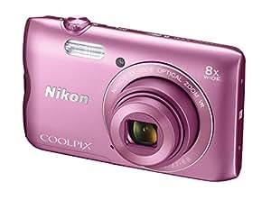 Nikon A300 Coolpix Digital Compact Camera - Pink