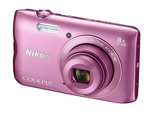 Nikon Coolpix A300 Appareil photo numérique 20.48 Mpix Zoom Optique 8 x Rose