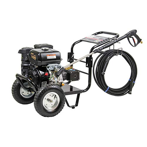 SIP Tempest PP960/280WM 4005psi 276 BAR Kohler 14HP Petrol Pressure Washer With Pneumatic Wheels