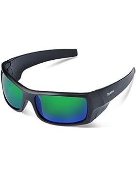 Duduma Gafas de Sol Deportivas Polarizadas Para Hombre Perfectas Para Esquiar Golf Correr Ciclismo TR601 Súper...