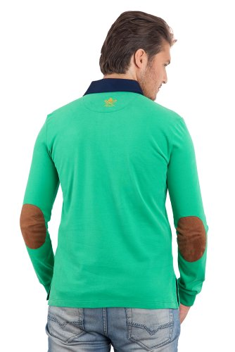Wings of Freedom Herren Poloshirt - Vert Gazon