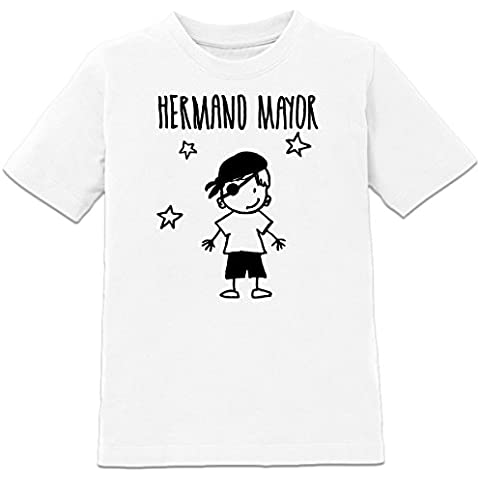 Camiseta de niño Hermano mayor by Shirtcity