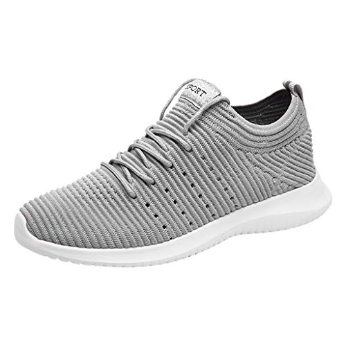 EU36-EU49 ODRD Schuhe Herrenmode Herren Sommer Mesh Breathable Sneakers Lace-Up Leichte Sneakers Freizeitschuhe Freizeitschuhe Stiefel Wanderstiefel Combat Hallenschuhe Shoes Laufschuhe Sports (Qupid Womens Schuhe)