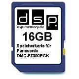 DSP Memory Z-4051557435568 16GB Speicherkarte für Panasonic DMC-FZ300EGK