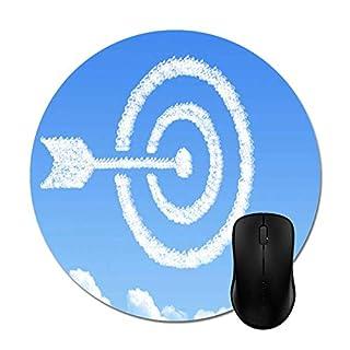 Cloud Arrow Target Sky Mouse Pad 8