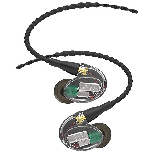 Westone UM Pro 30 In-Ear-Monitor mit drei Balanced-Armature Treibern und austauschbarem Kabel (2017er Version)