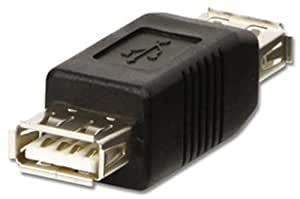LINDY USB Adapter USB A Female to A Female Coupler