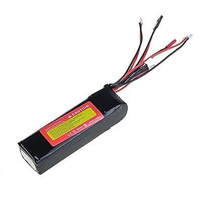 Bluelover ZOP Power 11.1V 2200MAH 8C Lipo Battery For Devo JR WFLY Transmitter